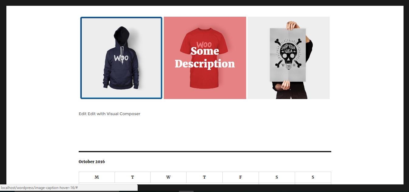 Shirt design wordpress plugin - Step 7 Visit That Page